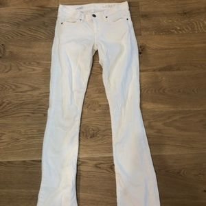 white skinny boot jeans